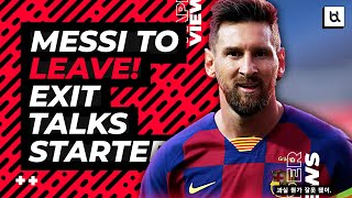 Let's talk about lionel messi which today has announced and communicated to fc barcelona his desire leave immediately! wants barc...