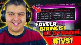 Favela 1.sİ İle Favela'da 1vs1 Attim!! Zula