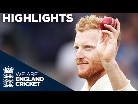 Stokes Takes 6-22 As Wickets Tumble On Both Sides - England v West Indies 3rd Test Day 1 2017