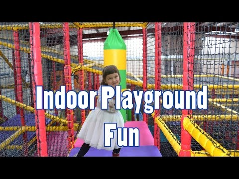 Indoor Playground Fun 3 Play Centers for children Slides Playroom with Balls | TheChildhoodLife