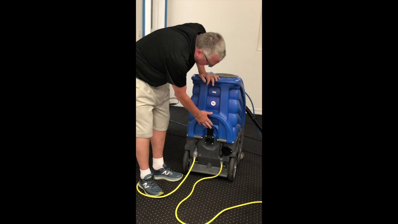 Sandia Products Carpet Extraction With A 12 Gallon