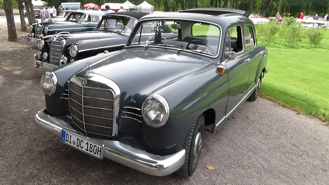 1959 1962 mercedes benz 180 d exterior and interior for 1962 mercedes benz