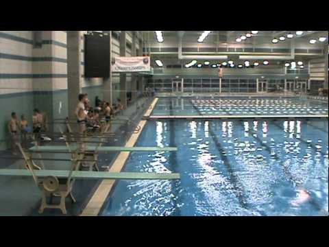 Charlie Retter Wins 2011 Nchsaa 4a Men 39 S Diving Championship Youtube