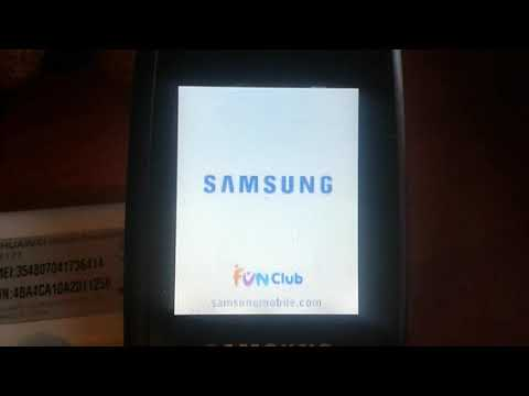 Samsung SGH-X160 Off/On