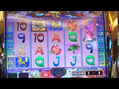 Aruze Chinese Phoenix Slot Bonus Round