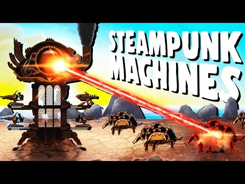 Defending the ULTIMATE Steampunk Forts! - Steampunk Tower 2 Gameplay