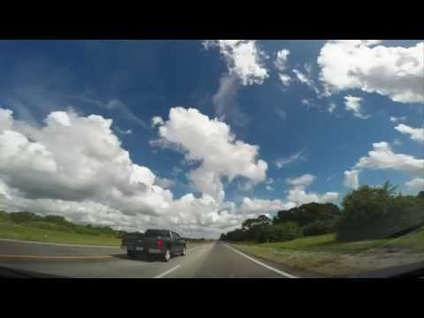 Drive on I-95 from Fort Lauderdale to Orlando