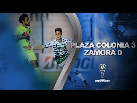 Plaza Colonia vs. Zamora [3-0] | GOLES | Primera Fase (Vuelta) | Sudamericana 2020