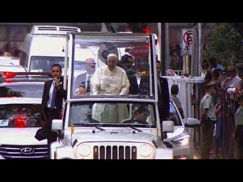 Protesto contra o papa