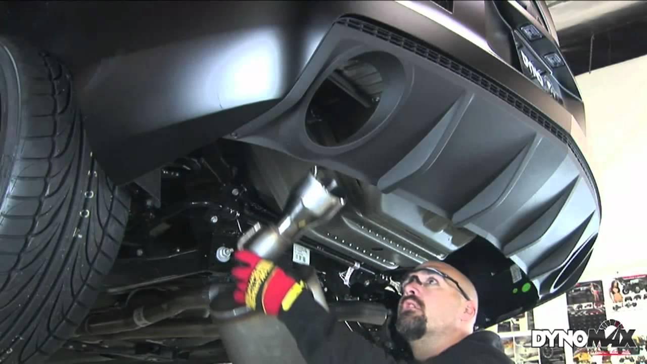 2010 2013 chevrolet camaro performance exhaust system kit dynomax axle back 39494