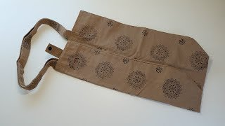 How to Sew a Foldable Shopping Bag