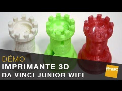 Imprimante Da Vinci Junior 3D WiFi : la création prend une nouvelle  dimension