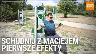 Schudnij z Maciejem Odc. 2 - pierwsze zrzucone kilogramy