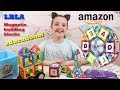 UNBOXING MAGNETIC BUILDING BLOCKS EDUCATIONAL TOYS LBLA AMAZON