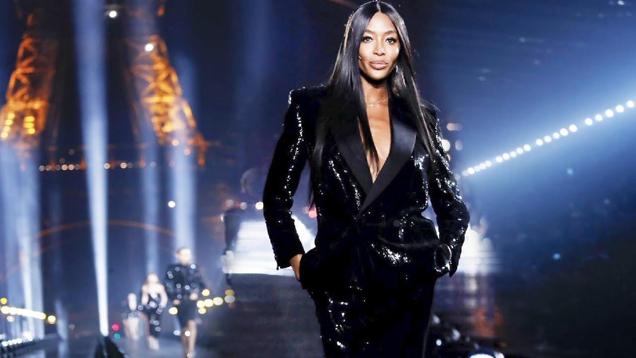 Saint Laurent Spring Summer 2020 Paris Fashion Week Youtube