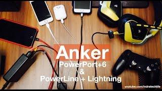 Review Anker PowerPort+6 & PowerLine - Indonesia