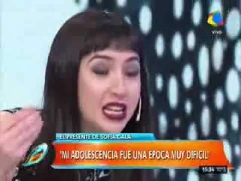 Sofía Gala en Intrusos: Nunca cog... tanto como a los 14 años