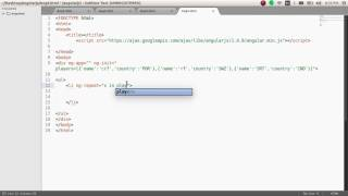 angular js directives repeating array object ng repeat tutorial 4