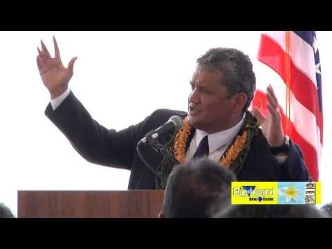 Mayor Billy Kenoi State of Hawaii County Address