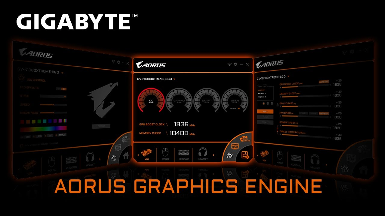 How to use AORUS Graphics Engine