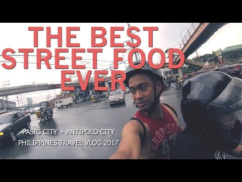 Roadtrip And Foodtrip: FILIPINO STYLE (Pasig City & Antipolo City, Philippines Travel Vlog 2017)