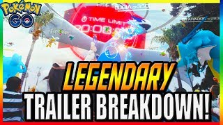 POKEMON GO LEGENDARY TRAILER BREAKDOWN! GEN1 & GEN2 LEGENDARY POKEMON! LUGIA, HO OH, MEWTWO, MOLTRES