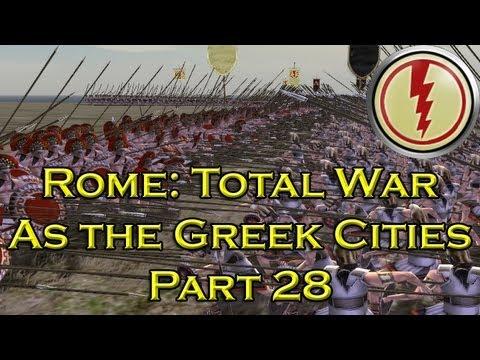 Let's Play Rome Total War Greek Cities - Part 28: Close Battles