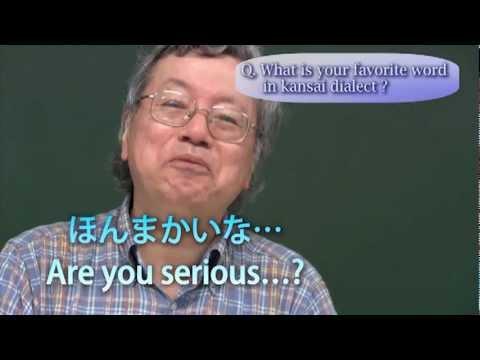 Unique Lecture on Kansai Dialect