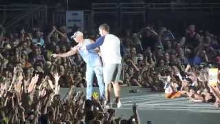Kenny Chesney ft. Matt Stafford-The Boys of Fall-Detroit, MI-The Big Revival Tour-8/22/15
