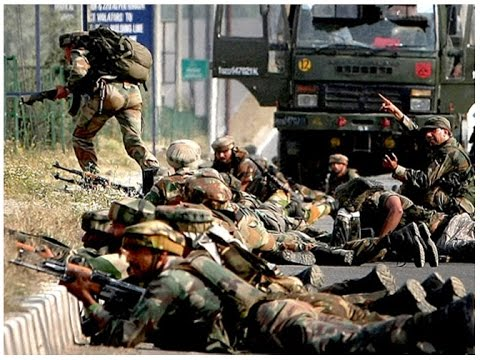 Indian Army's Live Encounter in Kashmir