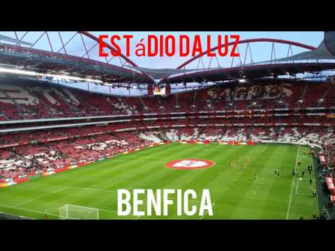 Estádio da luz Benfica, Lisboa.