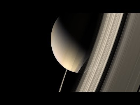 In Saturn's Rings 8K Narrated by LeVar Burton 2018