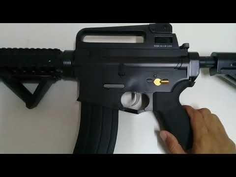 M4A1 Gel Gun Blaster From Zuan Long