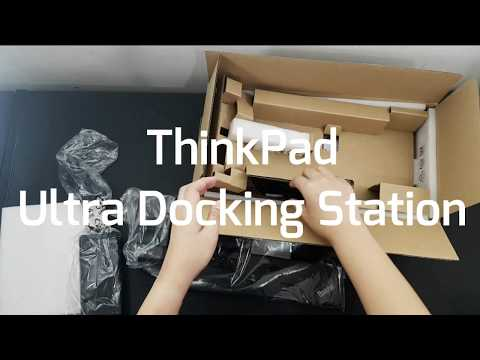 Thinkpad Ultra Docking Station For T480s (Unboxing)
