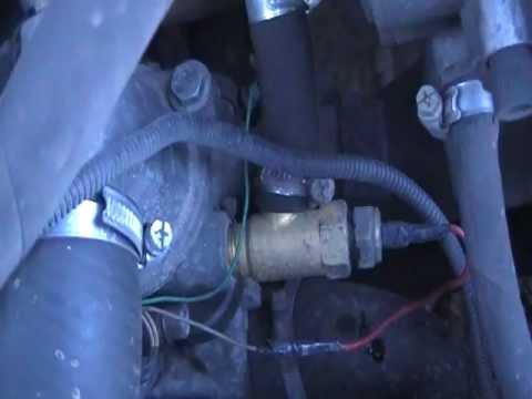 Подключение газового редуктора