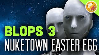 ROBOTS FIGHT BACK - Black Ops 3 Nuketown Easter Egg w/ Friends Funny Moments