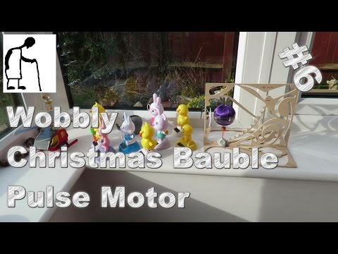 Wobbly Christmas Bauble Pulse Motor #6 more sun