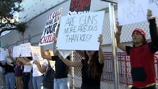 Florida shooting survivors to march, demanding change in gun laws