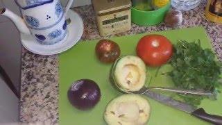 Салат из авокадо. Вкусно и полезно!