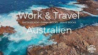 Work and Travel Australien - Canal Rocks und Wave Rocks - Vlog #15