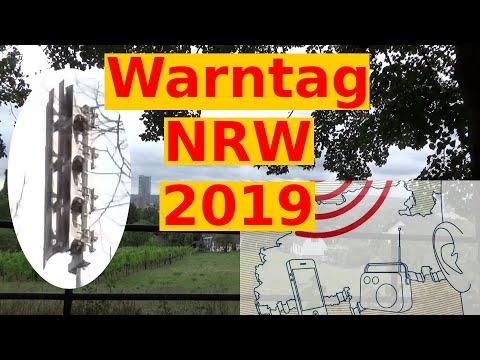 Warntag NRW 2019 - Sirenen Heulen In Ganz Nordrhein-Westfalen - Probealarm Bonn