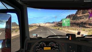 American Truck Simulator - Driving from to Salt Lake City to Moab - Utah State DLC [4K 60FPS]