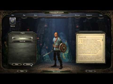 Pillars of Eternity - Настройки и создание персонажа