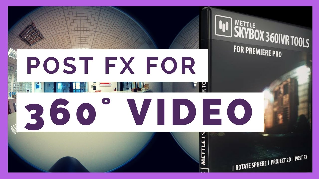 Tutorial: How to Add Text & Logos to #360Video in Premiere