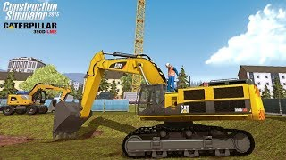 Caterpillar 390D LME Excavator | Construction Simulator 2015