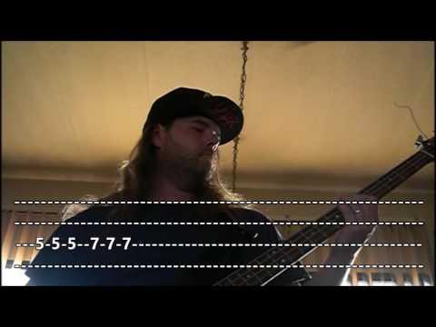 The Misfits - Skulls (Bass Lesson W\Tab)