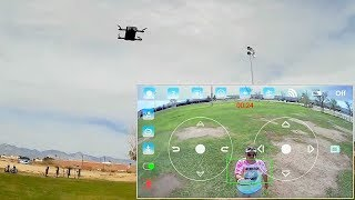 The Incredible JJRC H62 Splendor Cheapest Follow Me Selfie Drone
