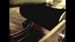 Columbia Licensed Puck Lyre Phonograph - La Marseillaise