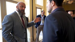 Triple H shows his executive side before his war with Batista: Triple H's Road to WrestleMania
