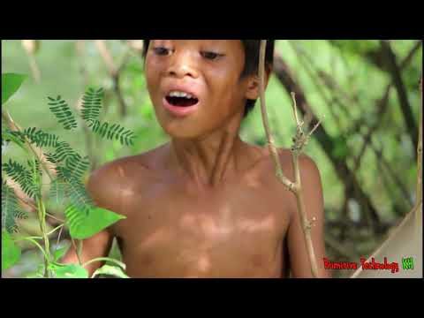 Primitive Technology - Eating delicious - Cooking fish recipe
